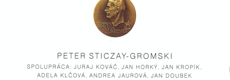 Nominácia na Cenu Dušana Jurkoviča 2019